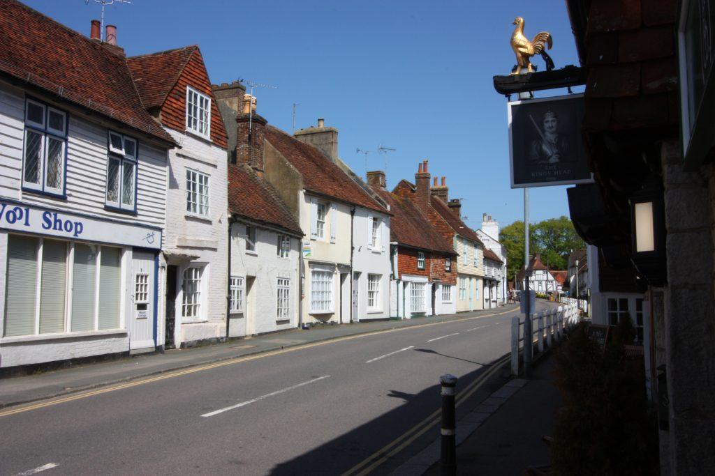 Mount Street, Battle